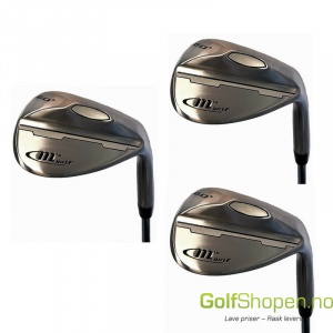 Mgolf Wedge 3 stk Stålskaft